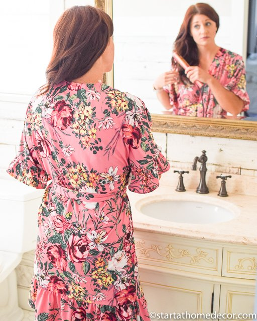Love this Floral Robe!!