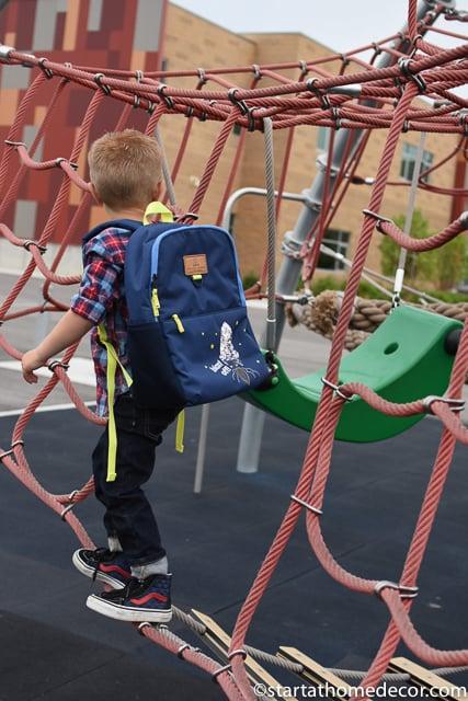 little boy backpack