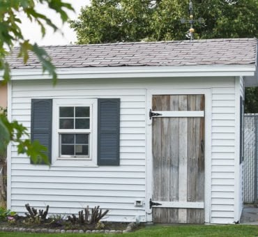 How to Paint a Shed