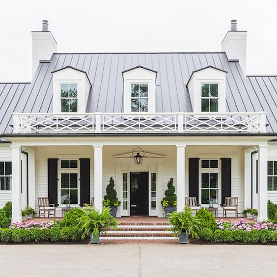 Painted Exteriors that Inspired Our Home