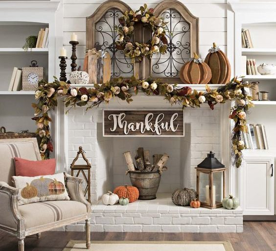 My Favorite Fall Mantels