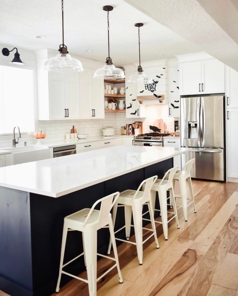 trick or treat - kitchen decor