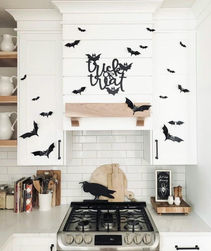 Kitchen fall cutouts and decor