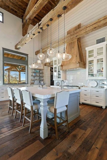 My Favorite Kitchens with Big Islands