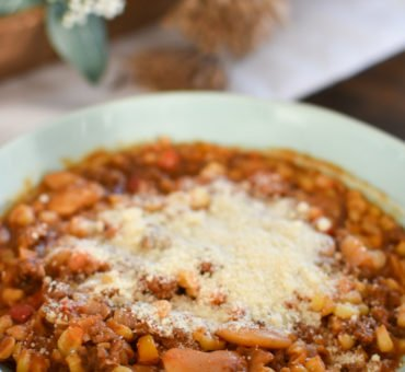 Lima Bean Goulash