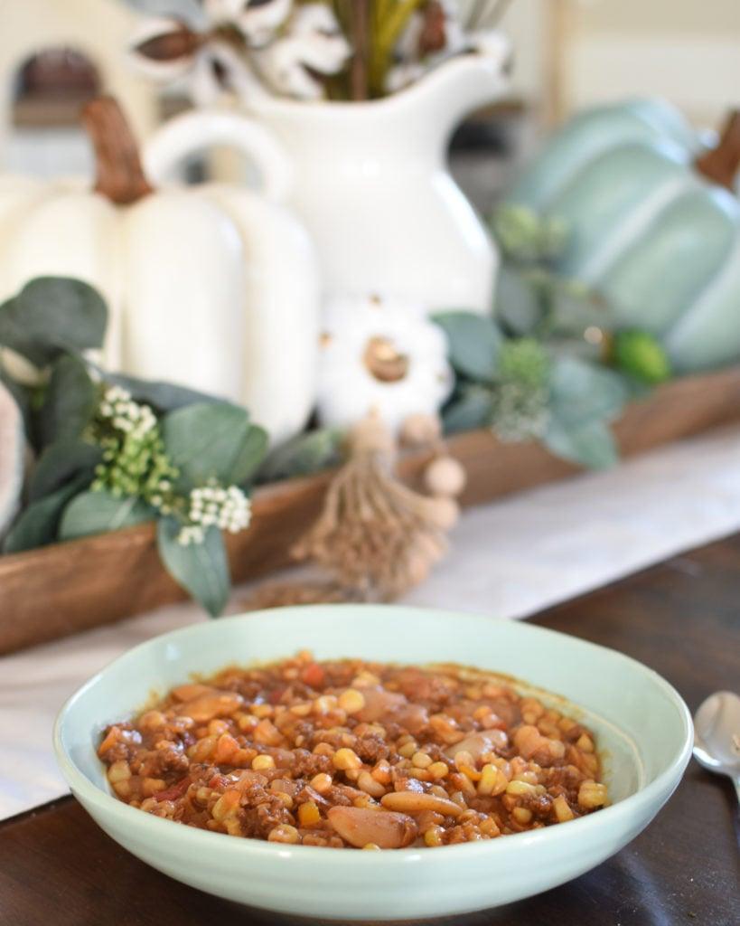 Lima Bean Goulash