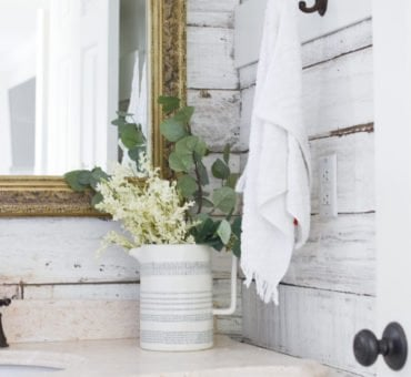 Farmhouse Inspired Master Bathroom Reveal