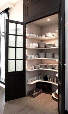 Mini built in pantry