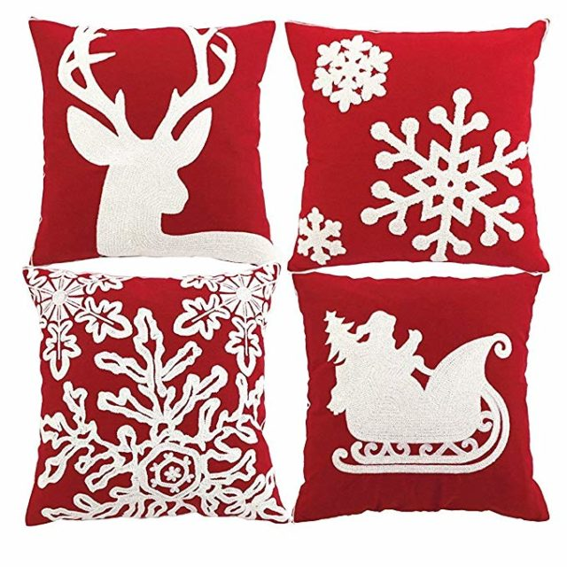 Christmas decor pillows