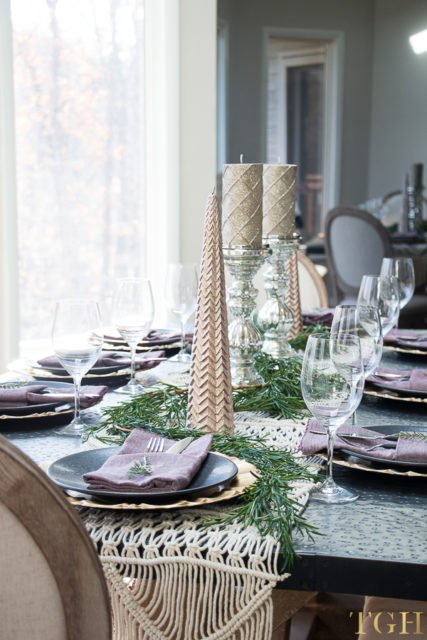 Lovely Fall Thanksgiving tablescape