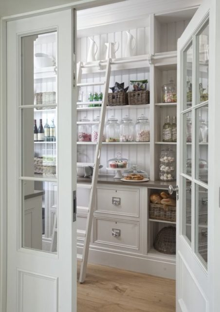Butler's Kitchen Pantry