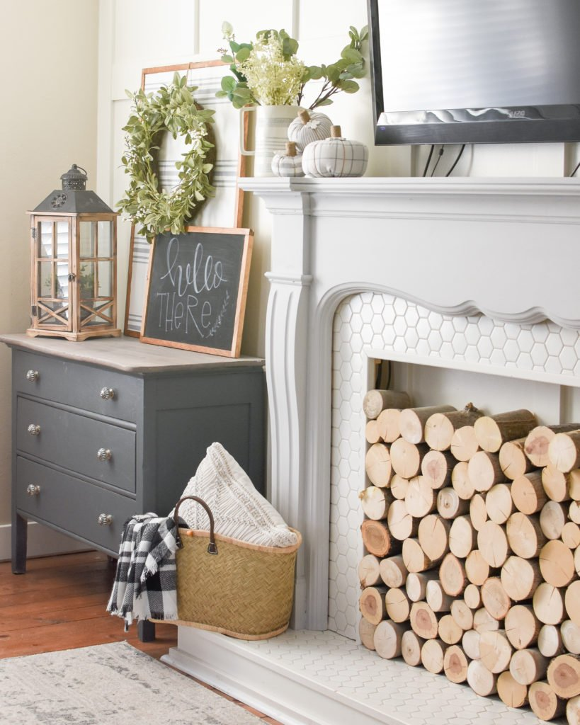 grey and charcoal family room