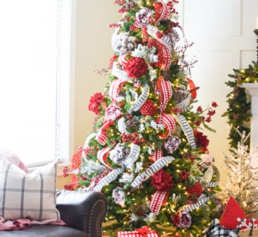 Change up your Christmas Decor with Ribbon!
