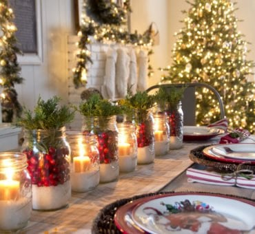 Classy Christmas Tablescapes
