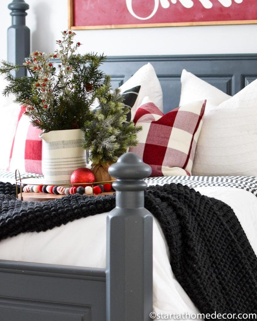 Christmas Master Bedroom