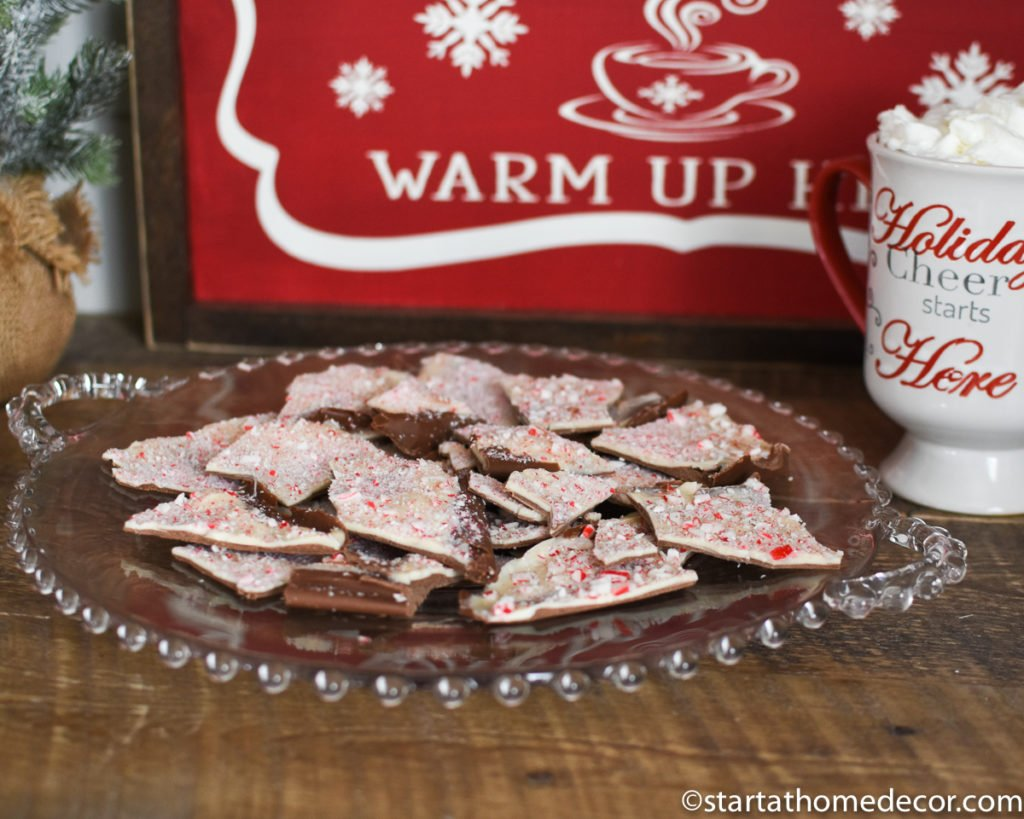 easy peppermint bark