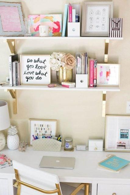 Open Shelves Bedroom
