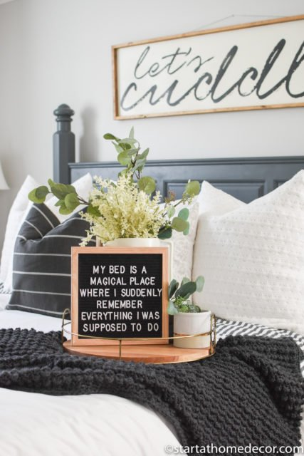 Felt letter board sayings