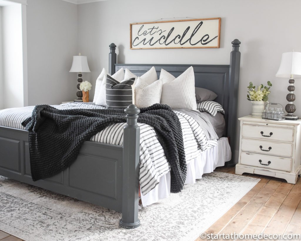 Change Up Your Master Bedroom Decor With Bedding Start At Home Decor