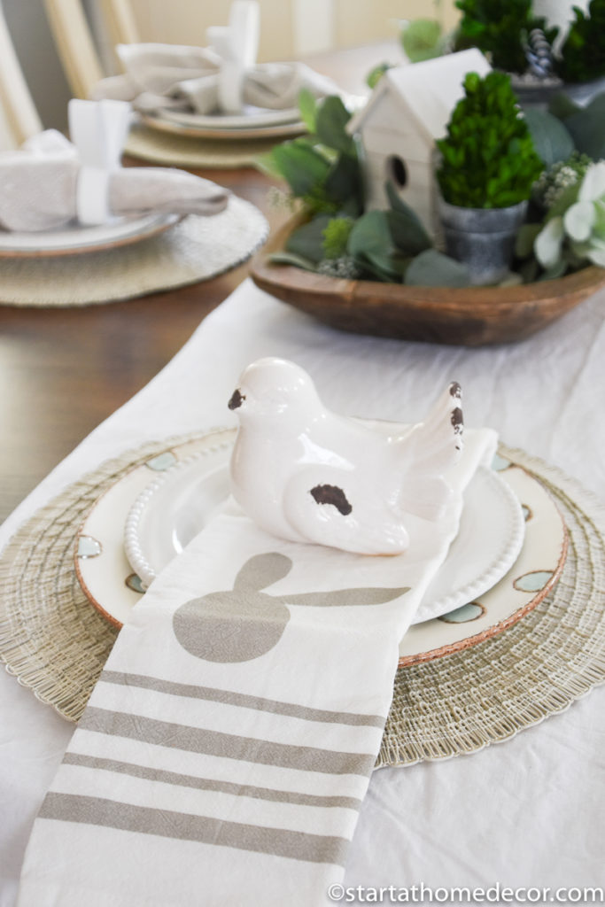 Easter Napkins | Spring Table | Easter Table Settings