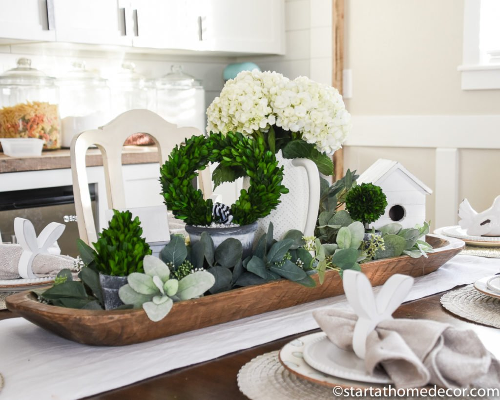 Faux Greenery | Easter Table | Spring Decor