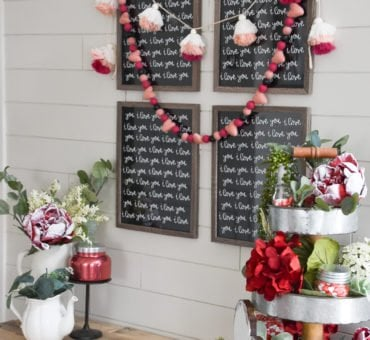 DIY Valentine's Day Entry Way and Free Printable