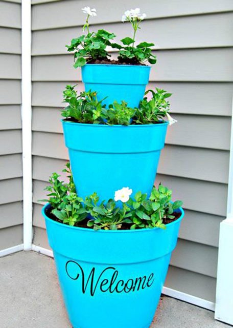 Porch planter ideas