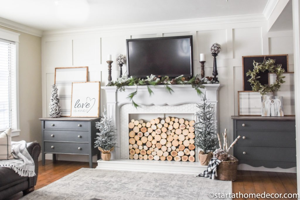 Easy Winter Decor
