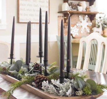 Christmas to Winter Decor