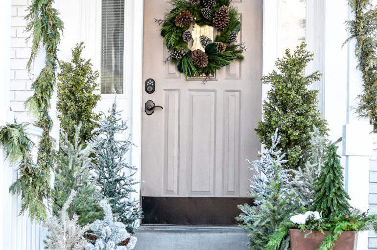 Easy Winter Decor Using Your Christmas Decorations