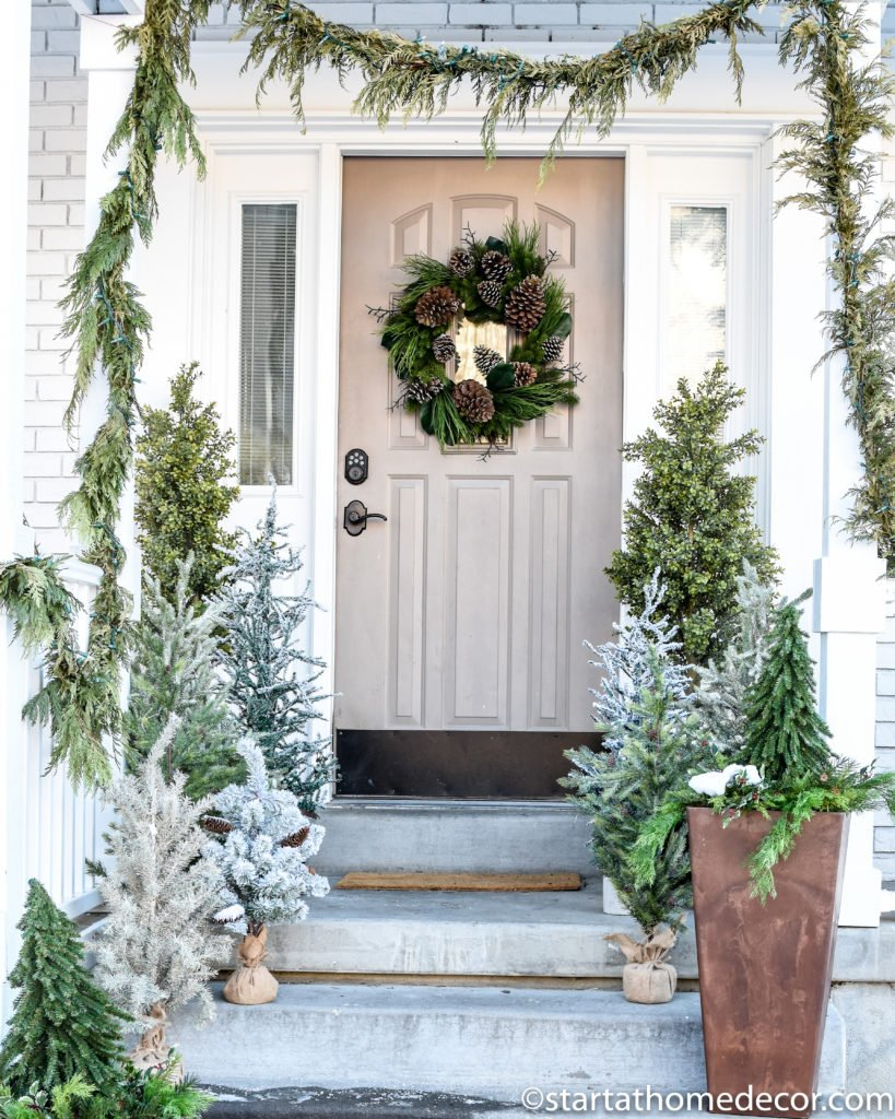 Easy Winter Decor Using Christmas Decorations