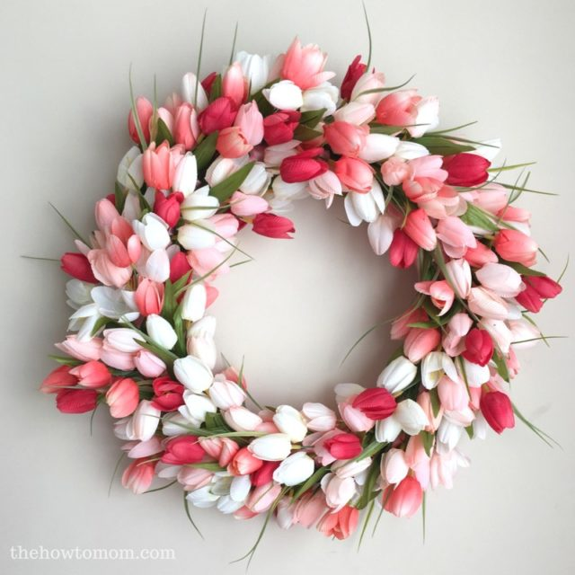Easy DIY Spring Decor | Spring Wreath