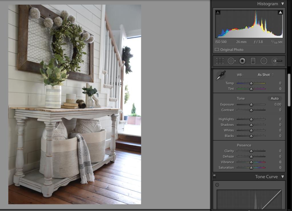 How I Edit Photos Using Lightroom
