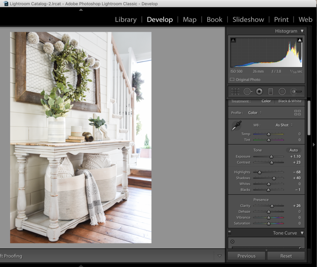 How to edit photos in Lightroom
