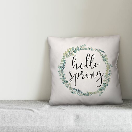 Home spring decor - pillows