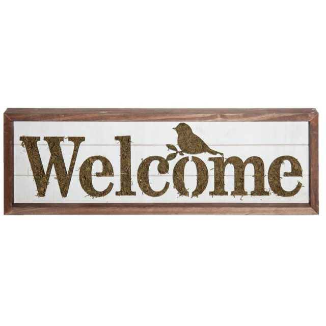 Welcome sign - spring decor
