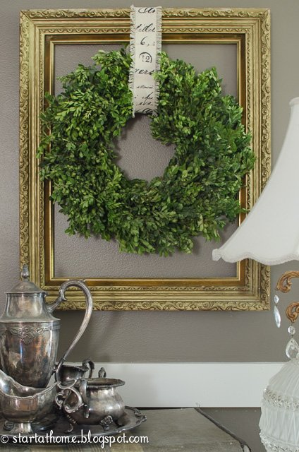 Spring wreath | Boxwood wreath