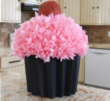Cupcake Valentine's Day Box