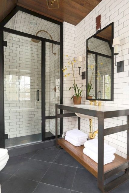 Gorgeous master bathrooms