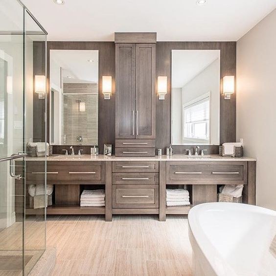 Gorgeous master bathroom for remodel