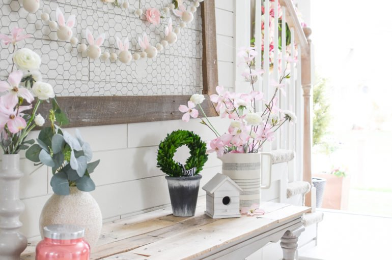 DIY Felt Garlands for Spring on a Budget
