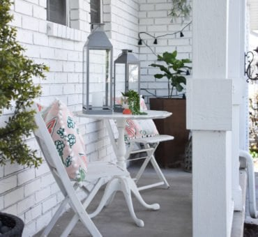 Summer Boho Porch for Under $200