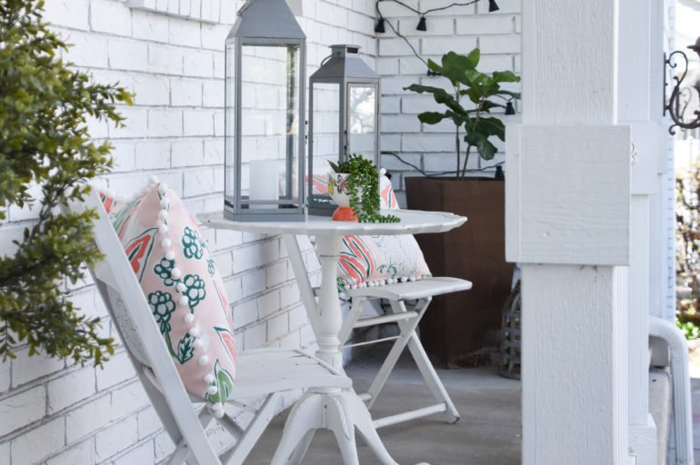 Summer Boho Porch for Under $200