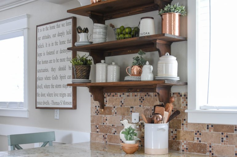 Beginners Guide to Styling Shelves