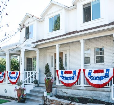 How to create a 4th of July Porch