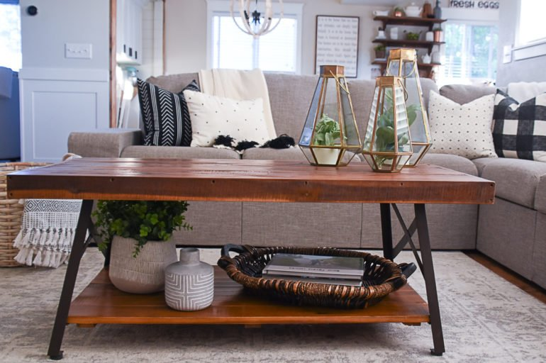 My Favorite Coffee Tables for Under $200