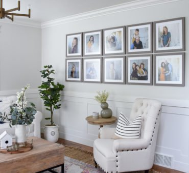 How to Hang a Gallery Wall, the Easy Way