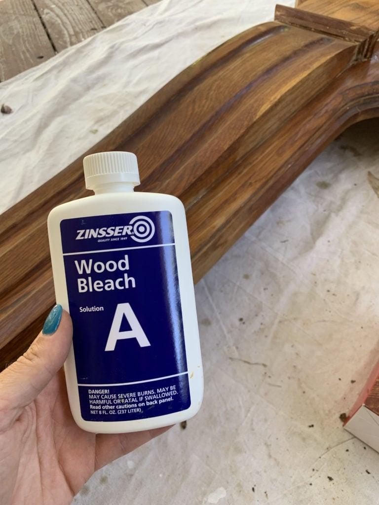 How to Bleach Red Oak