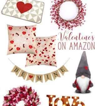 Valentine's Decor on Amazon