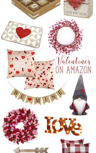 Valentine's Decor on Amazon